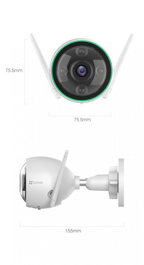 EZVIZ C3N Outdoor Smart Wi-Fi Camera CS-C3N-A0-3H2WFRL