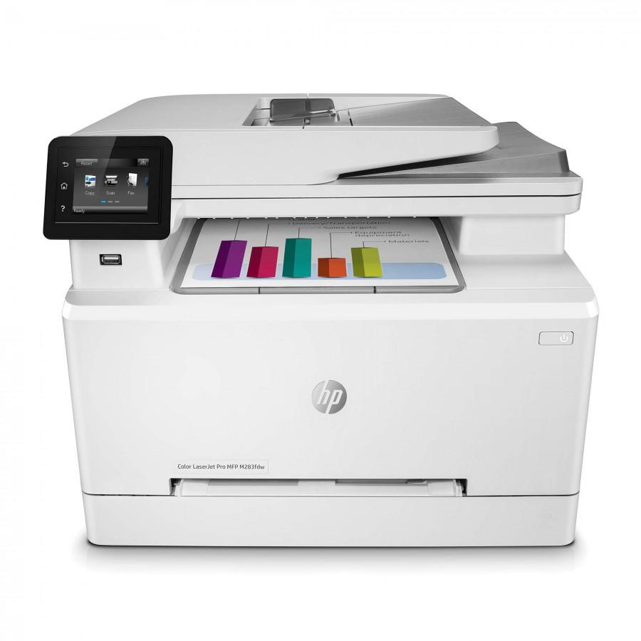 HP Color LaserJet Pro M283fdw Multi-Function Printer white