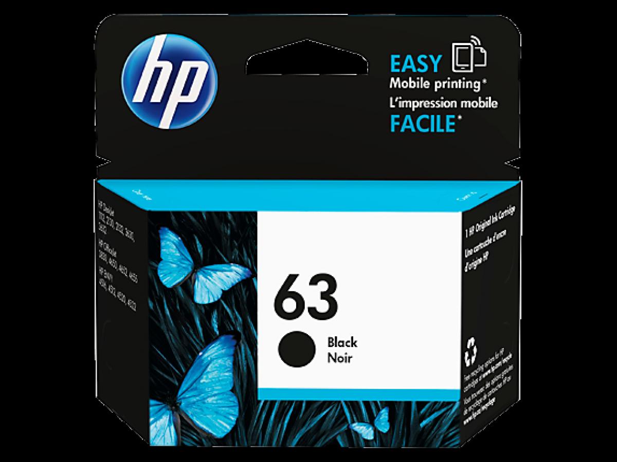 HP Cartridge 63 BLACK