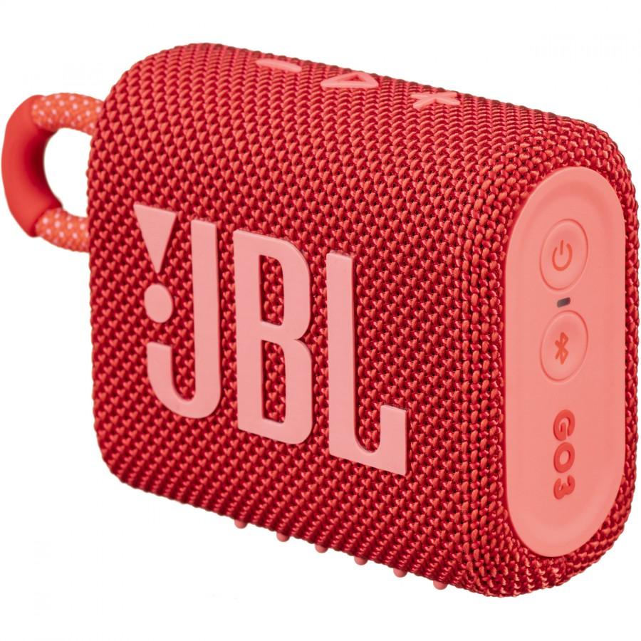 JBL GO 3 Portable Wireless Speaker – Red