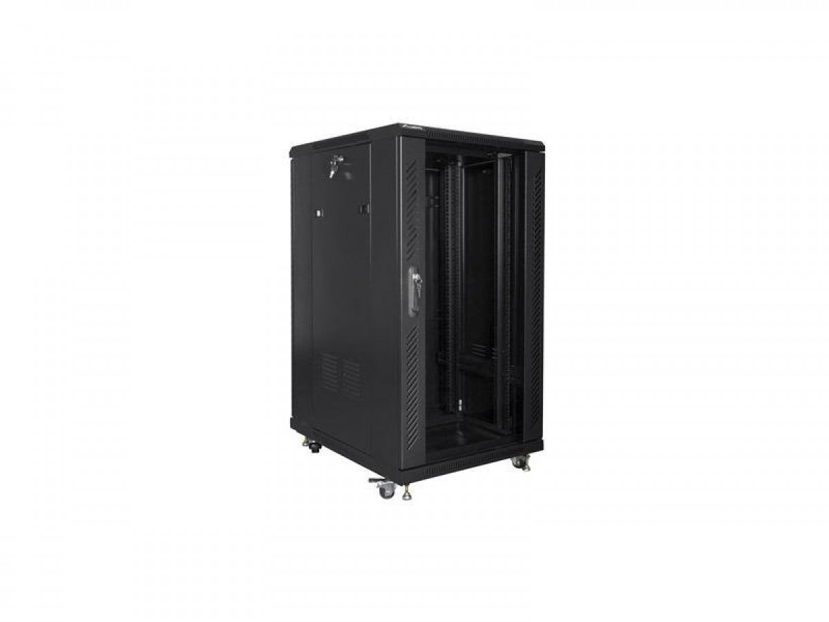 CABINET 22U 800X600 FREE STANDING NETWORK CABINET WITH FANS