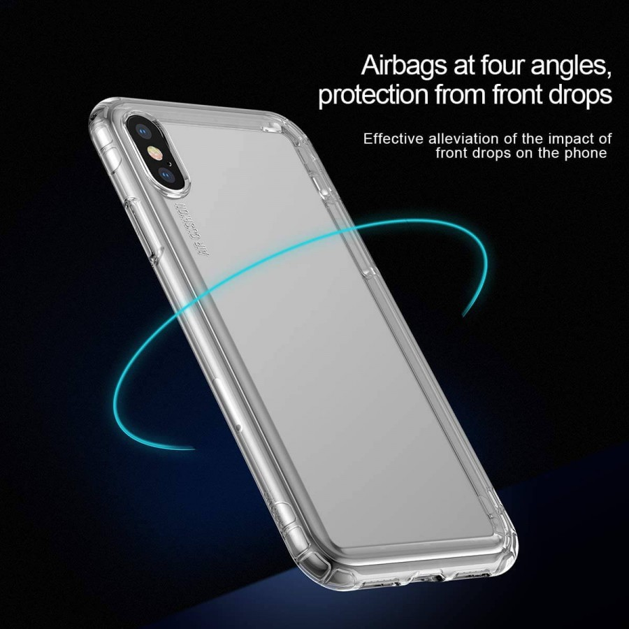 Baseus Safety AirBags Case iPhone Xs Max – Clear