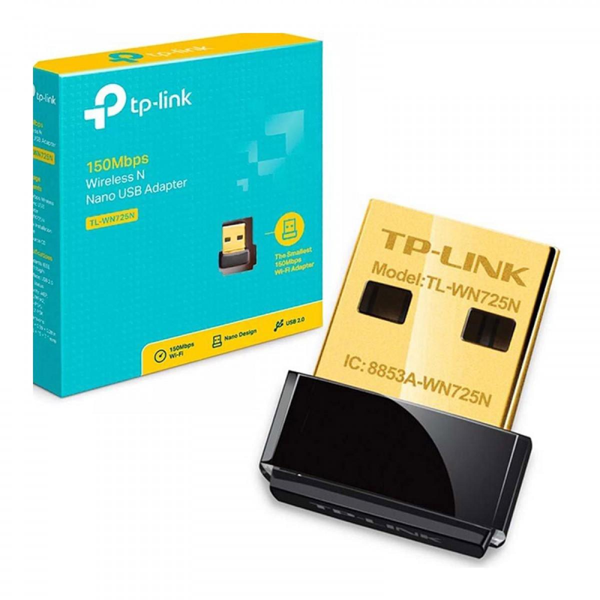 TP-LINK 150MBPS WIRELESS N NANO USB ADAPTER # TL-WN725N
