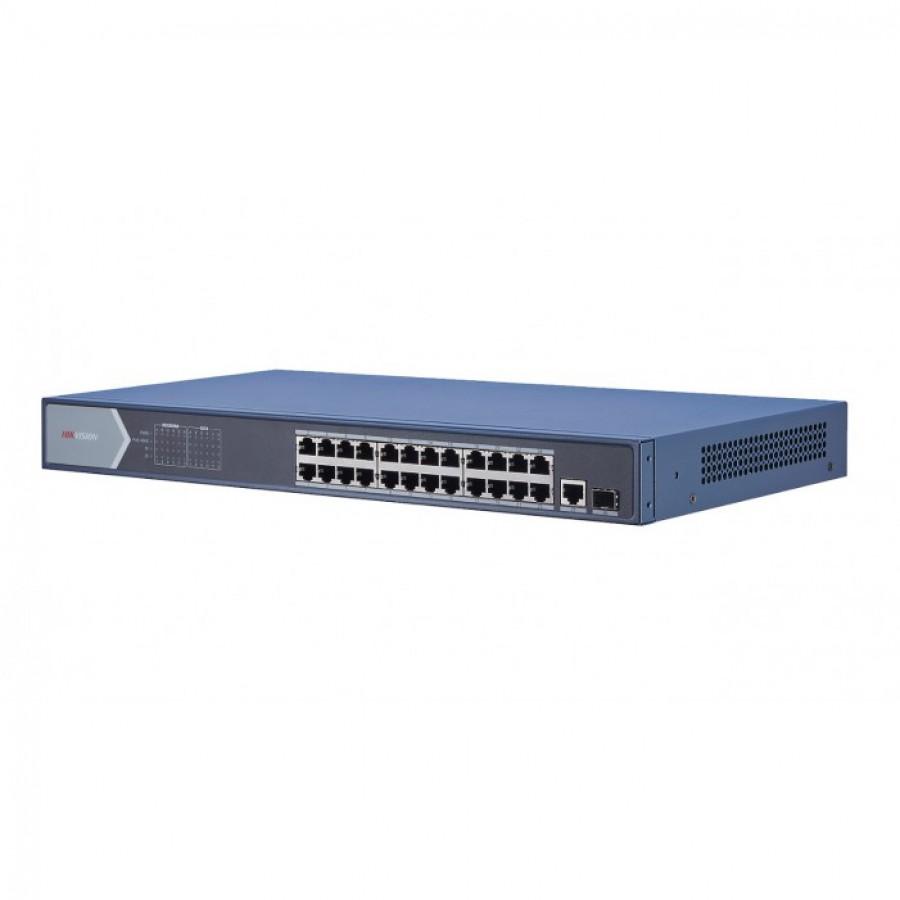 Hikvision DS-3E0526P-E 24 Port Unmanaged Gigabit PoE Switch