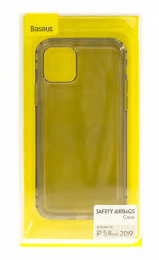 Baseus Safety AirBags Case iPhone 11 Pro Max – Gold Transparent