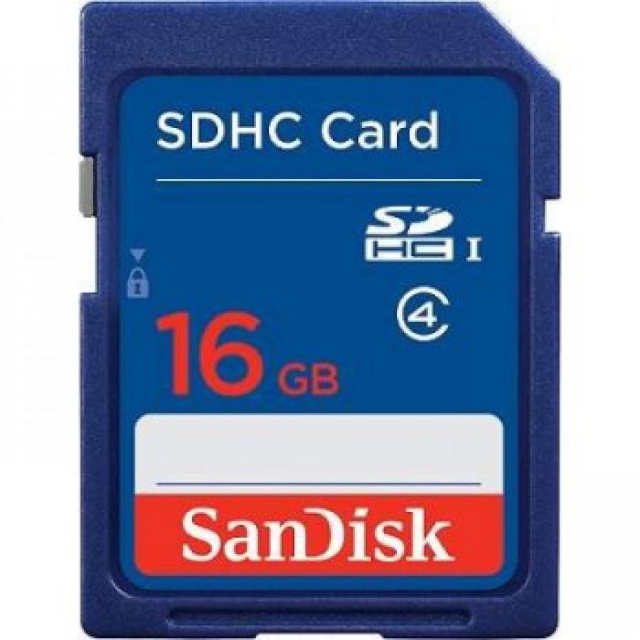 Sandisk SDHC card 16 GB SDSDB-016G-B35