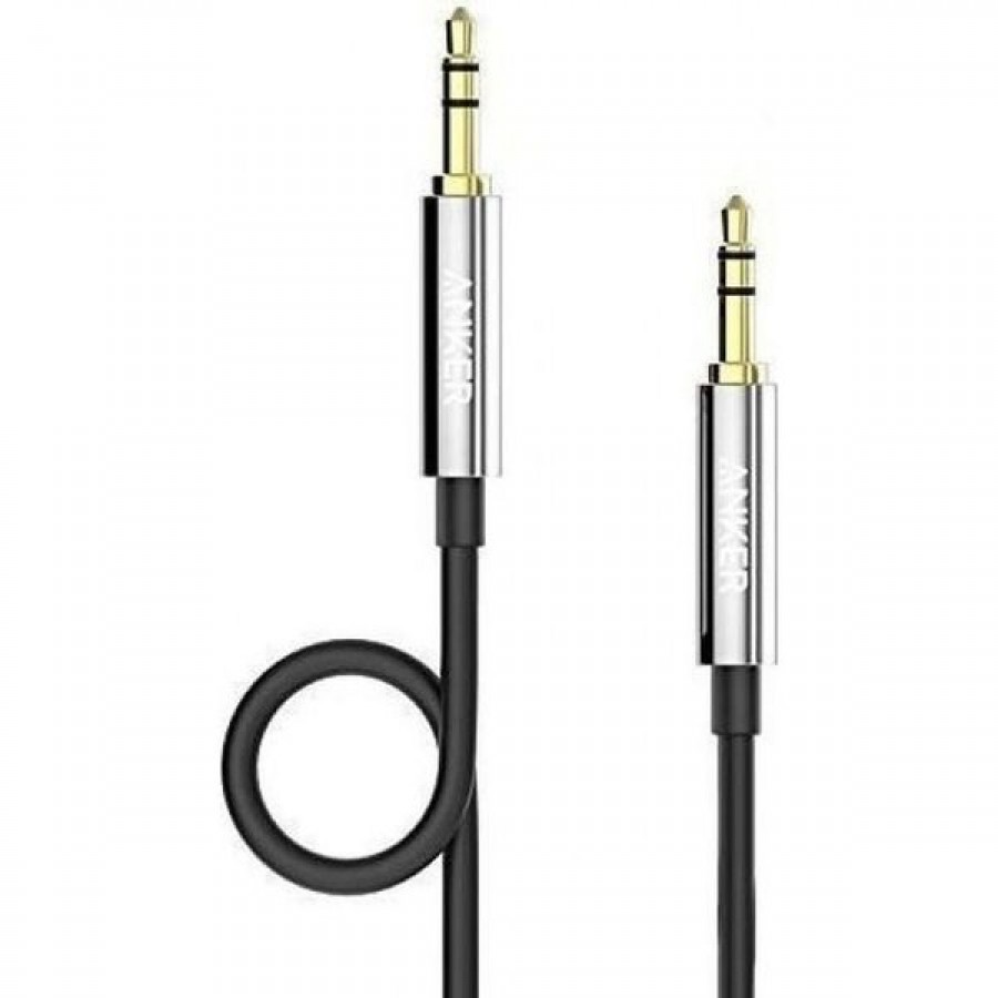 ANKER Auxiliary AUDIO Cable Black A7123H12