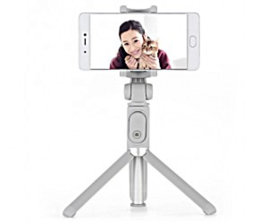 Mi Selfie Stick Tripod #XMZPG01YM, Gray Color