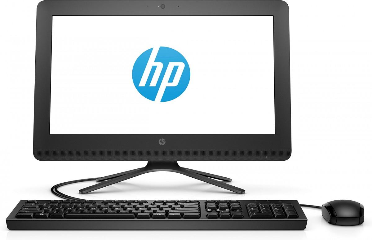 HP ALL IN ONE 20″ SCREEN (AIO) CORE CELERON, 4GB RAM, 256 SSD, WINDOWS 10 HOME, BLACK