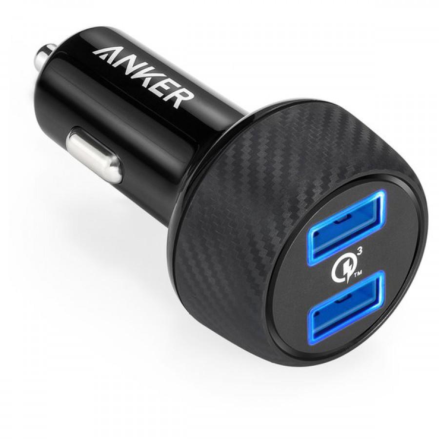 ANKER POWERDRIVE SPEED 2 USB PORT A2228H11 BLACK