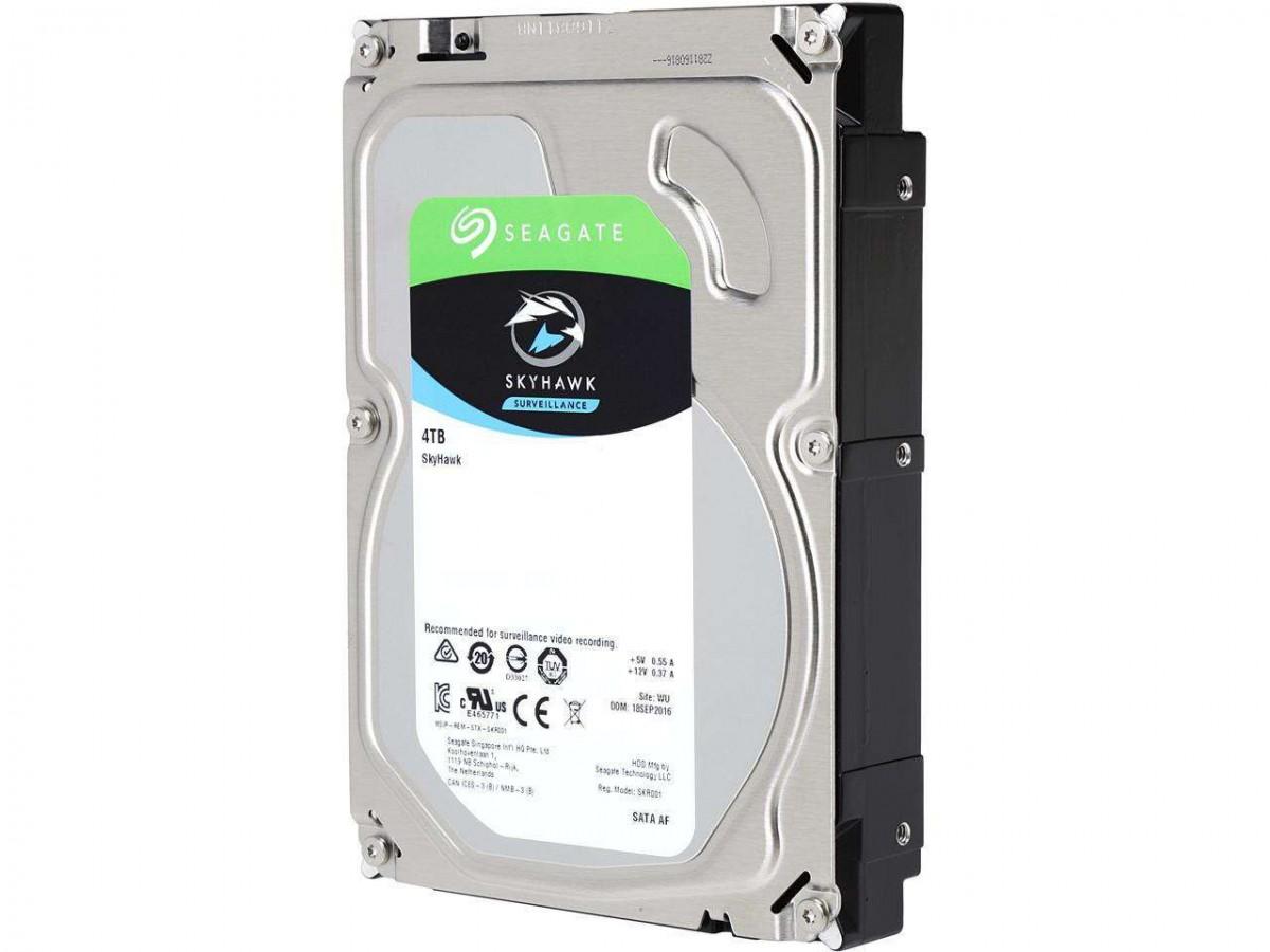 Seagate SkyHawk 4TB Surveillance Hard Drive 64MB Cache SATA 6.0Gb/s 3.5″ Internal Hard Drive ST4000VX007