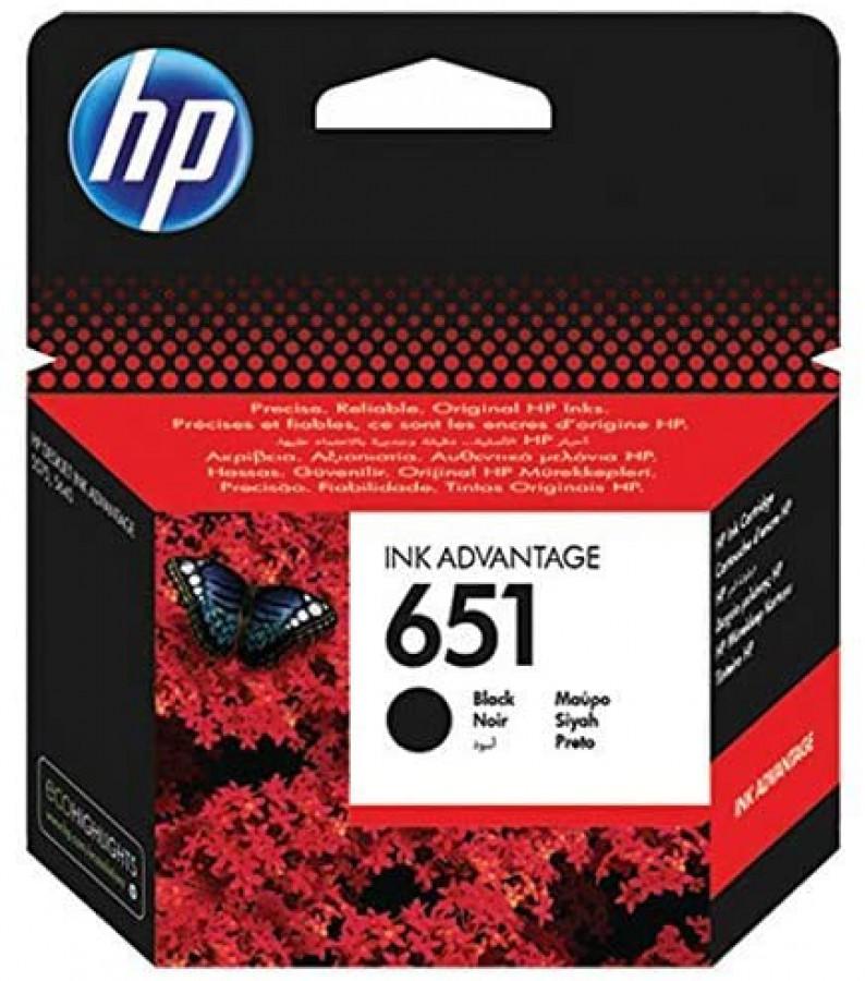 HP INK Cartridge 651 BLACK