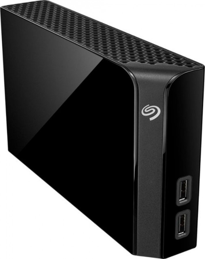 Seagate – Backup Plus Hub 6TB External USB 3.0 Desktop Hard Drive – Black