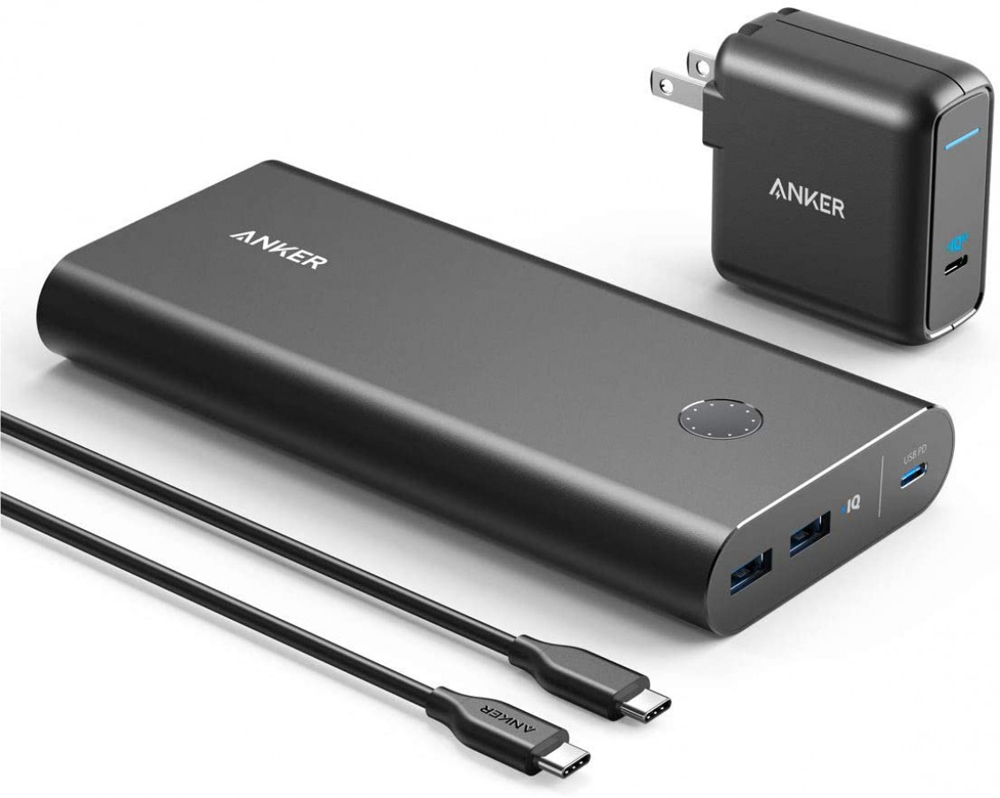 ANKER POWERCORE+ 26800 PD WITH POWERPORT ATOM II 60W B1376V11