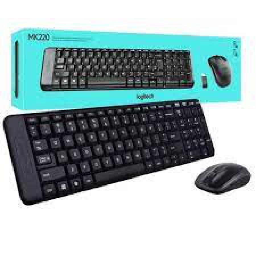 Logitech MK220 Wireless Keyboard and Mouse Combo