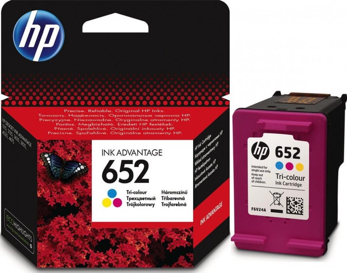 HP ORIGINAL INK 652 COLOR