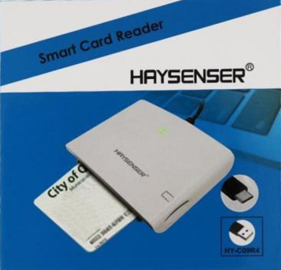 HAYSENSER SMART CARD READERHY-C09R4 WITH TYPE-C CONNECTOR