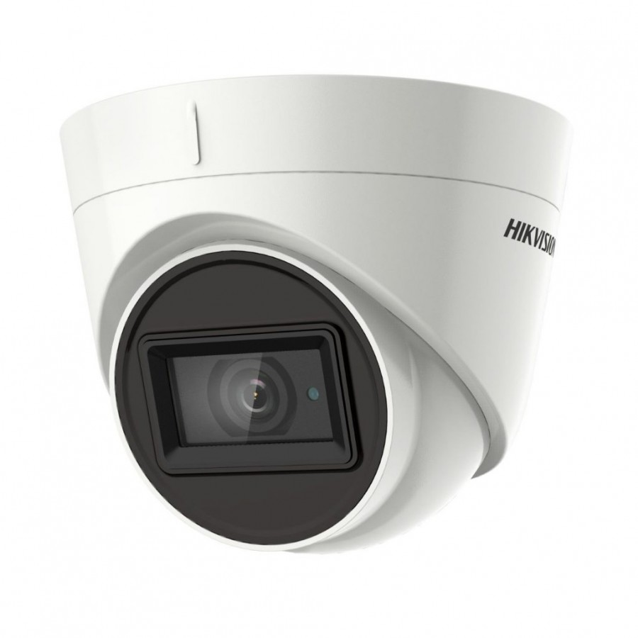 Hikvision DS-2CE78H8T-IT1F 5MP Outdoor Turret Camera 30m IR, IP67, 12VDC, 2.8mm