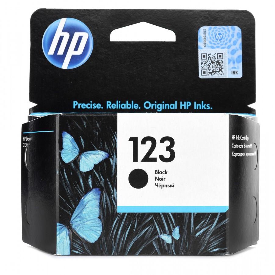 HP INK Cartridge 123  Black