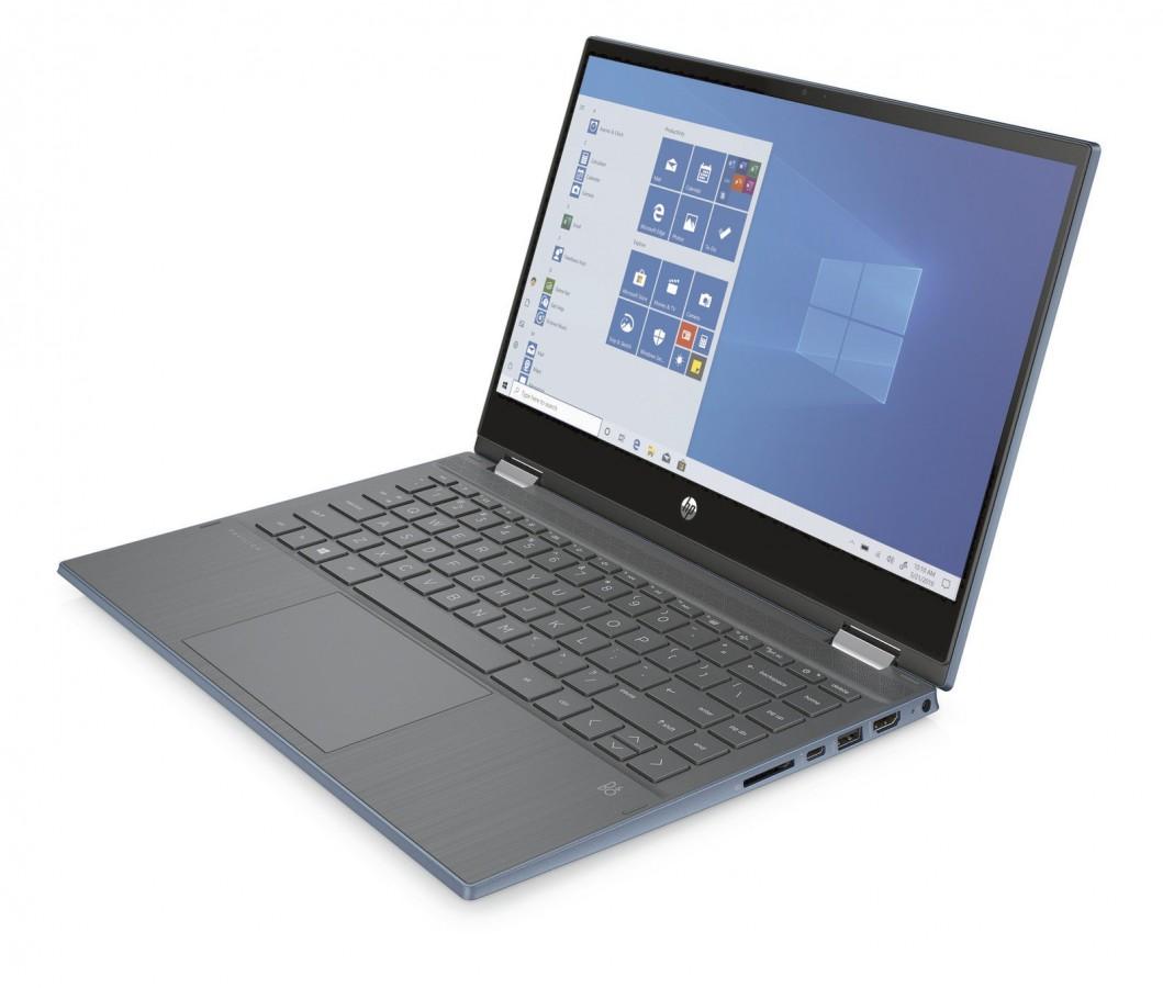 HP Pavilion x360 Laptop, Core i5(11Gen), 8GB RAM , 512GB SSD, Blue Color 14 Inch With Pen  #14t-DW100,