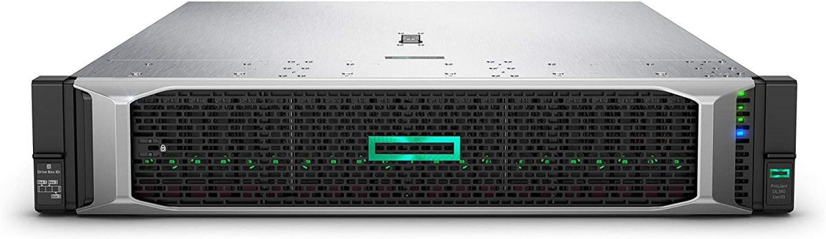 HPE ProLiant DL380 Gen10 Rack Server with one Intel Xeon 4110 Processor, 64 GB Memory, 5x 500GB SSD SATA,  2 x HPE 500W Flex Slot Platinum Hot Plug Low Halogen Power Supply, 2U Rack