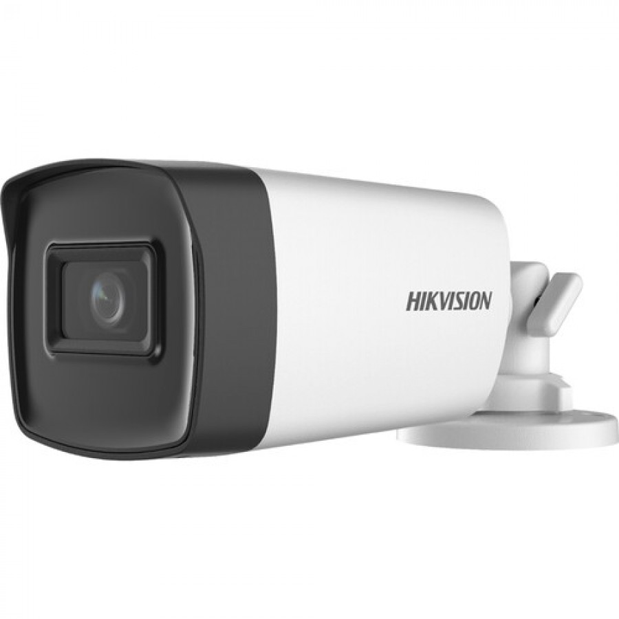 Hikvision DS-2CE17H0T-IT3F 5MP Outdoor Analog HD Bullet Camera with Night Vision & 2.8mm Lens